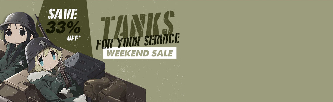 Tanks For Your Service Weekend Sale