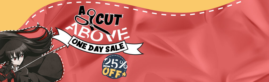 A Cut Above One Day Sale