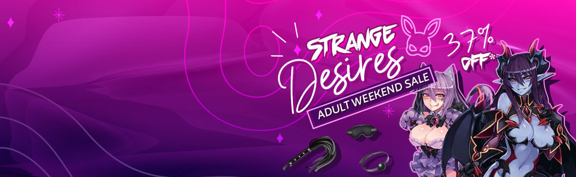 Strange Desires Adult Weekend Sale