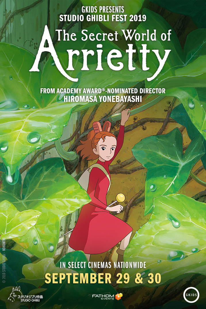 The Secret World of Arrietty in Theaters