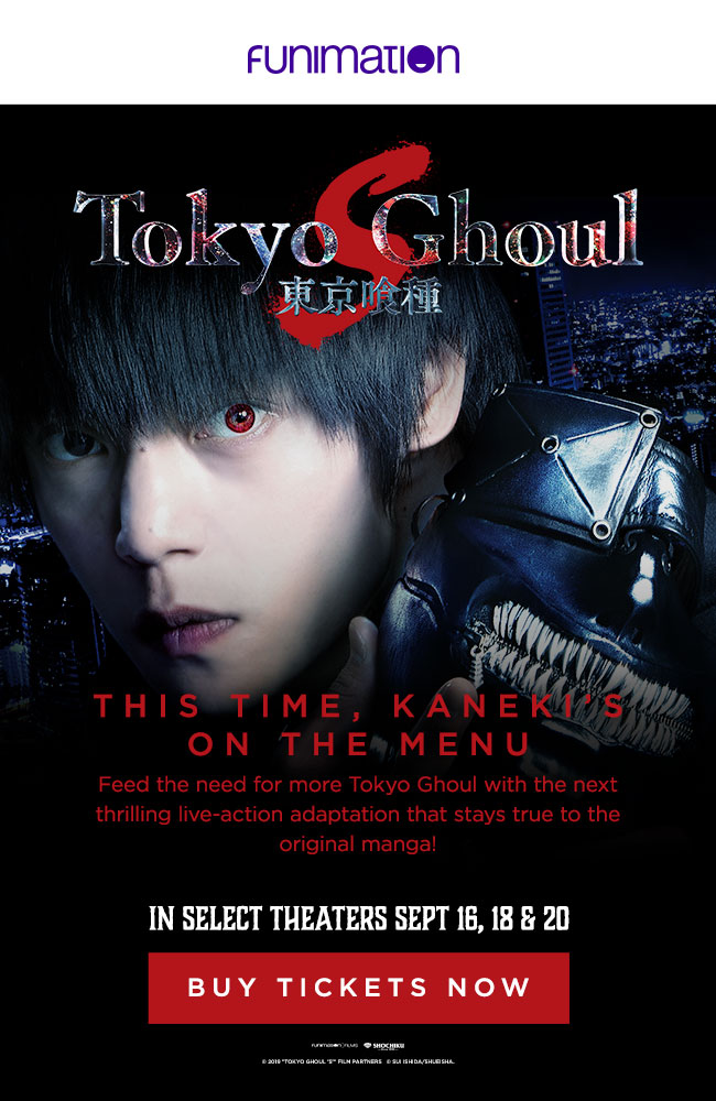 Tokyo Ghoul S In Theaters