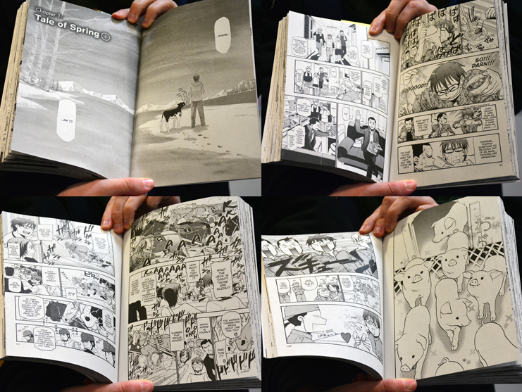 Silver Spoon Manga Volume 1 Pages