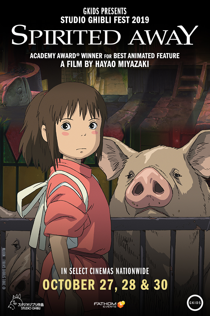 Spirited Away in Theaters