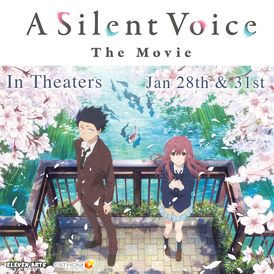 = A Silent Voice Is Coming To Theaters!