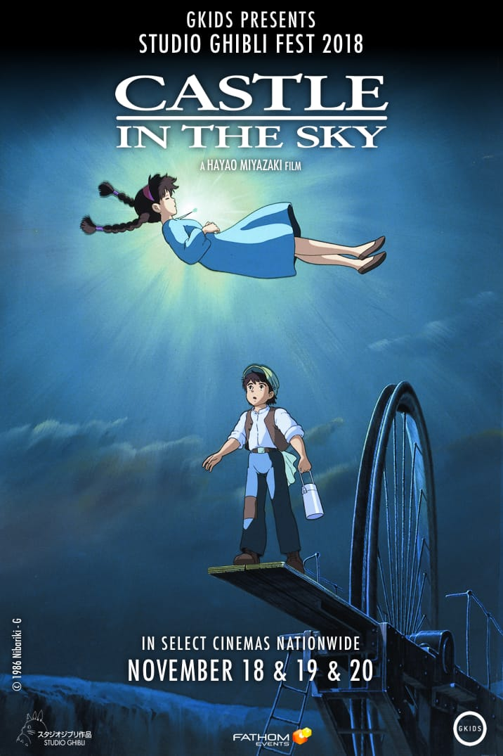 Castle In The Sky Coming To Theaters!