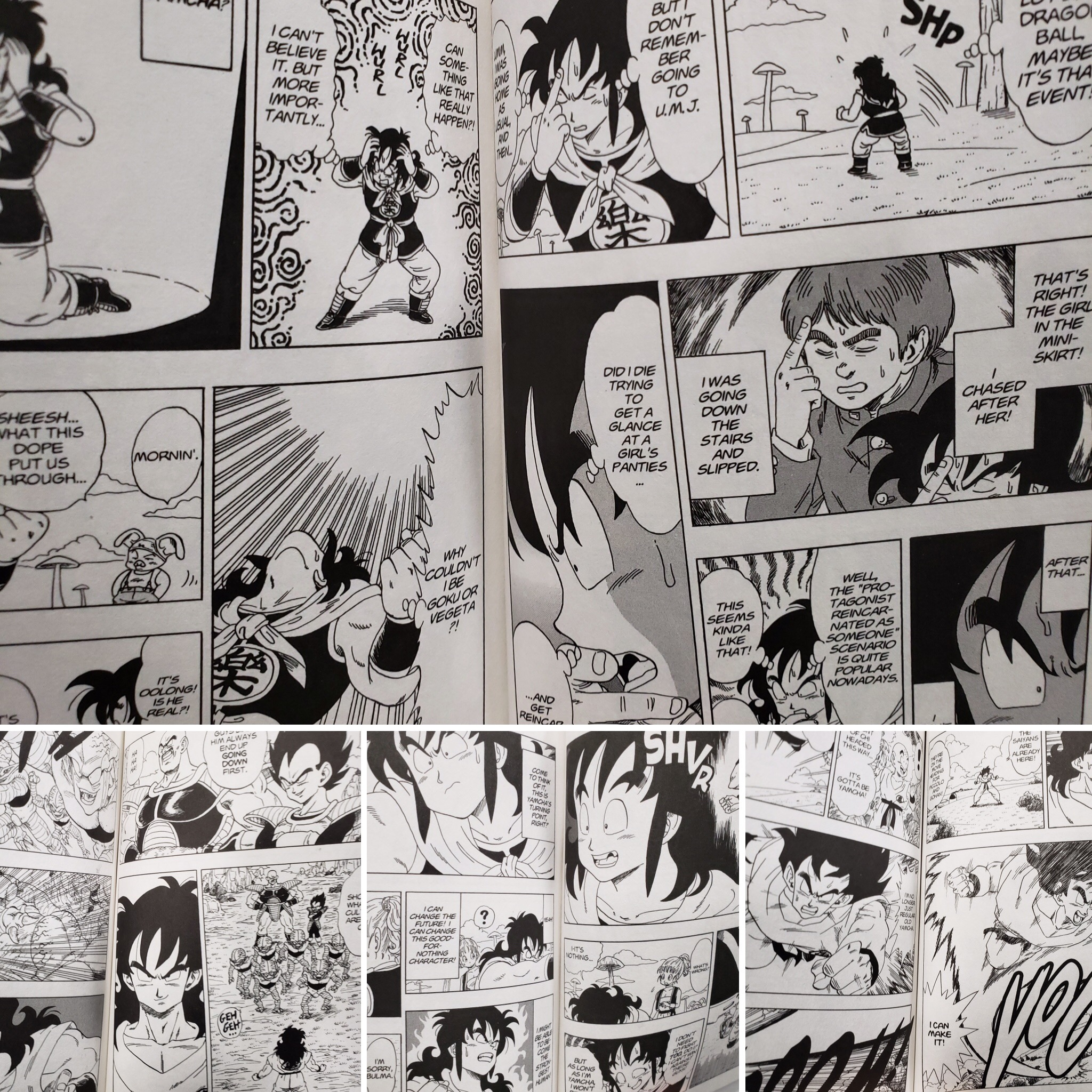Dragon Ball That Time I Got Reincarnated As Yamcha! Manga Volume 1