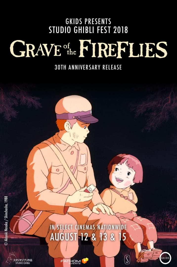 Grave of the Fireflies in theaters