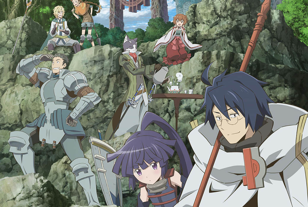 The main cast of Log Horizon