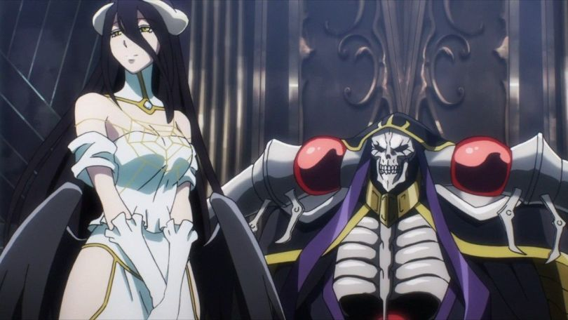 Ainz and his contemporary Albedo