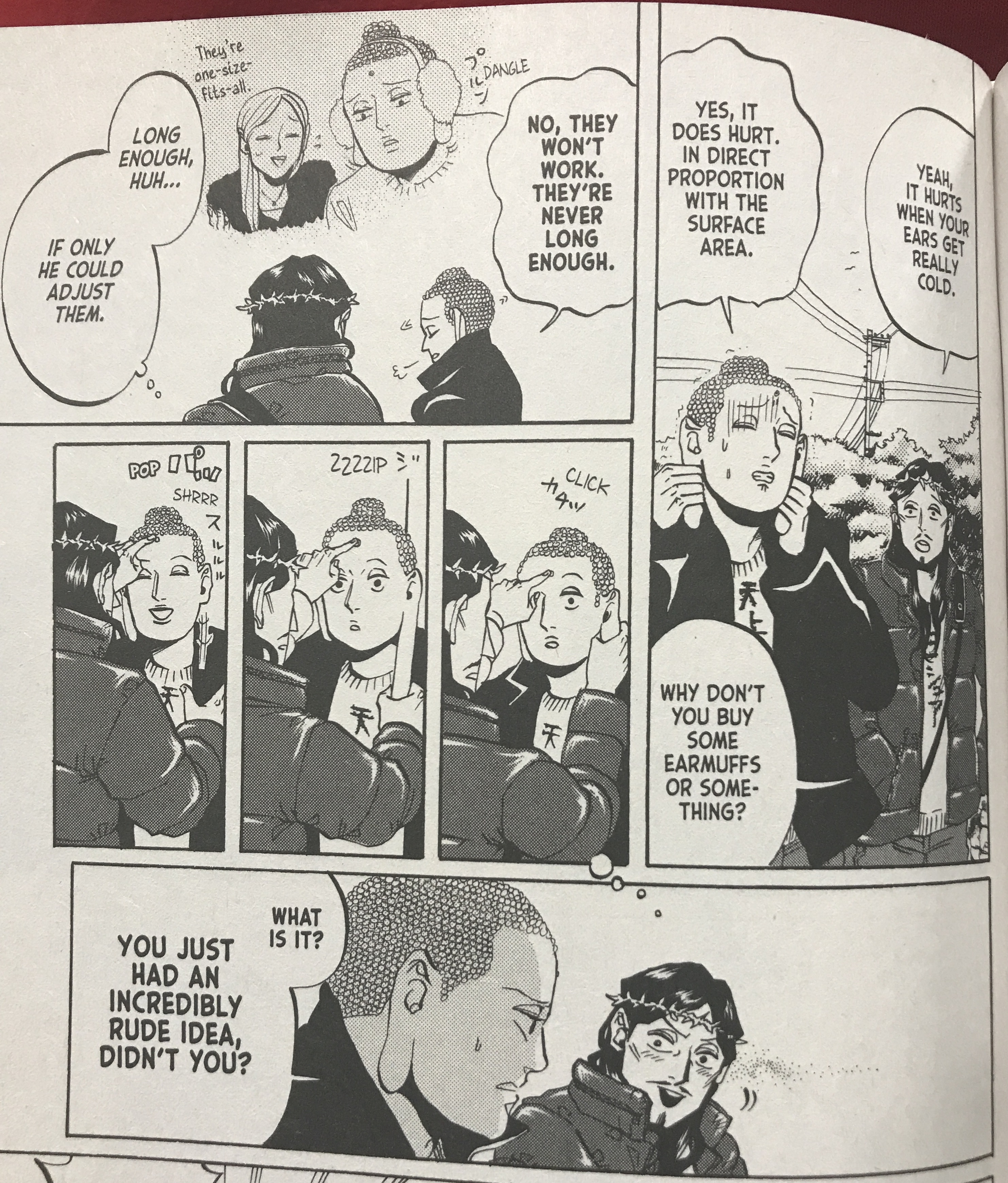 Saint Young Men Manga Volume 1 (Hardcover) Panels