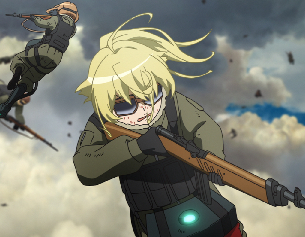 Tanya the main character of the series