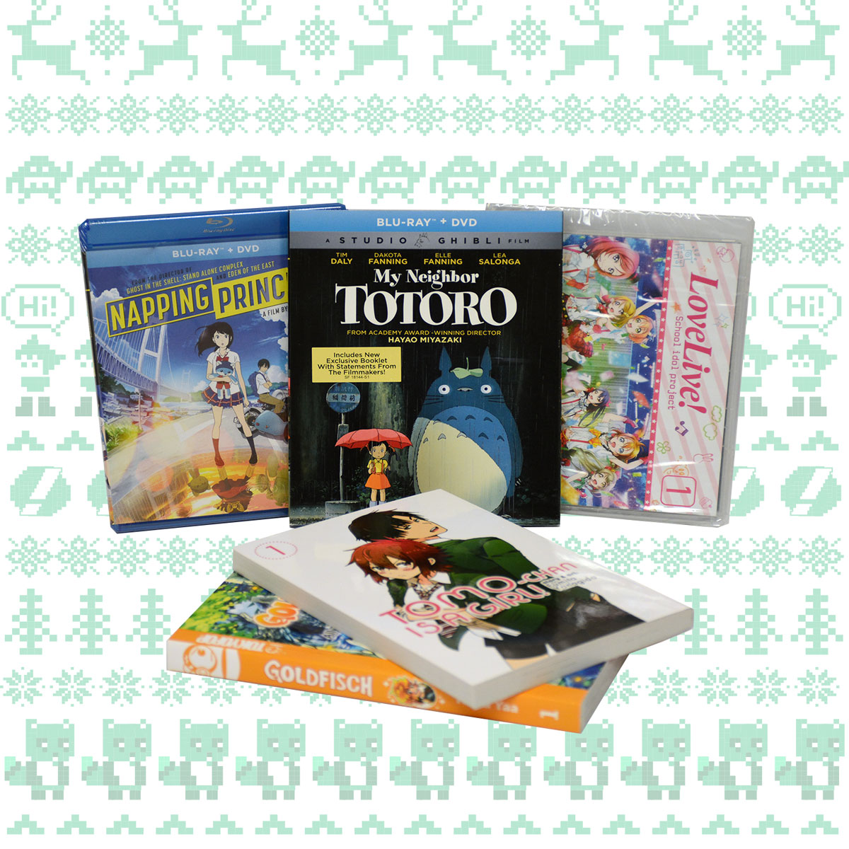 Right Stuf Anime Holiday Sale Daily Giveaway Day 11 Prize Pack
