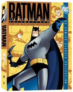 Batman The Animated Series Collection 4 DVD 012569688018