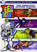 Teen Titans Season 2 DVD