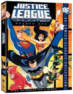 Justice League Unlimited Season 1 DVD 012569816497