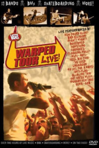 Vans Warped Tour Live 2002 DVD