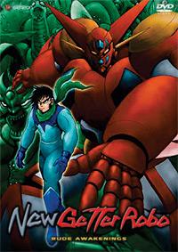 New Getter Robo DVD 1 013023240094