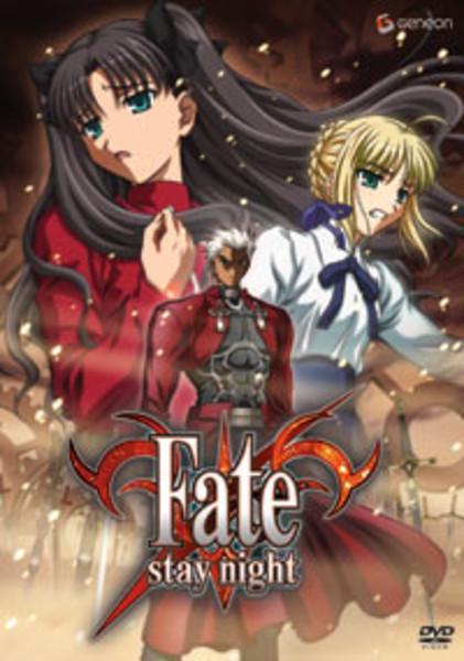 Fate/Stay Night DVD 4