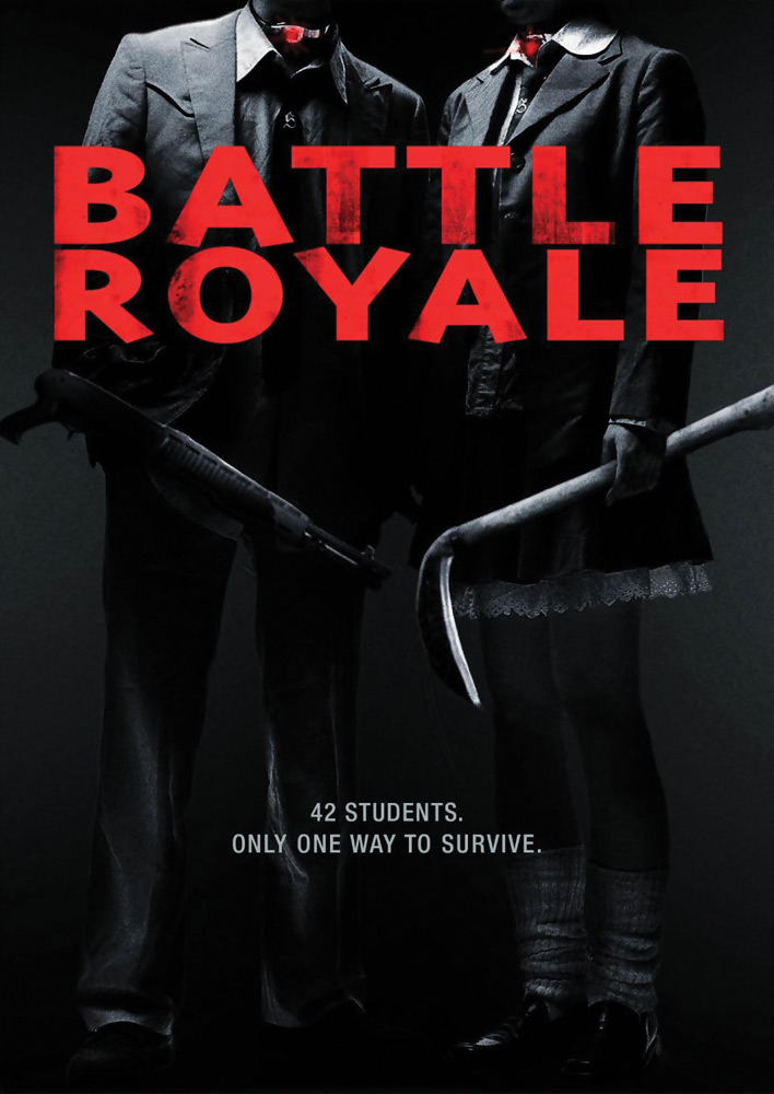 Battle Royale Director's Cut DVD 013132376295