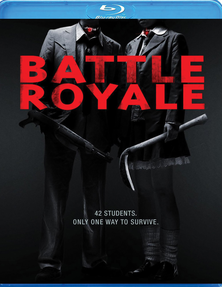 Battle Royale Director's Cut Blu-ray 013132376790