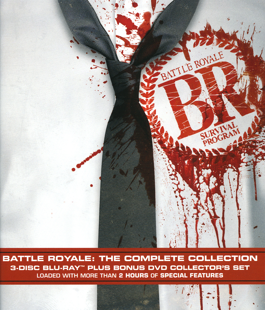 Battle Royale Complete Collection Blu-ray LiveAction 013132440194