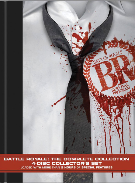 Battle Royale Complete Collection DVD LiveAction