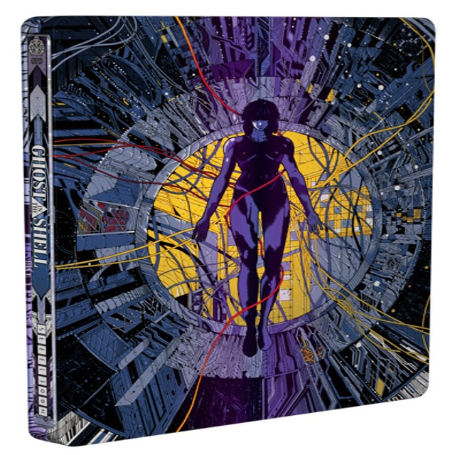 Ghost in the Shell Limited Edition Steelbook Blu-ray + UV 013132649092