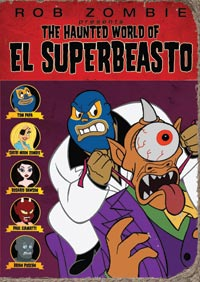 The Haunted World of El Superbeasto DVD 013138209788