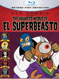 The Haunted World of El Superbeasto Blu-ray 013138311887