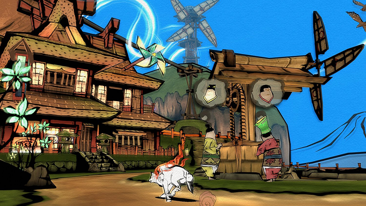 Okami HD PS4 Game