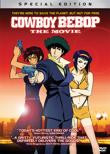 Cowboy Bebop the Movie Knocking On Heaven's Door DVD 014381685725