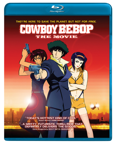 Cowboy Bebop the Movie Knocking On Heaven's Door Blu-ray 014381711752