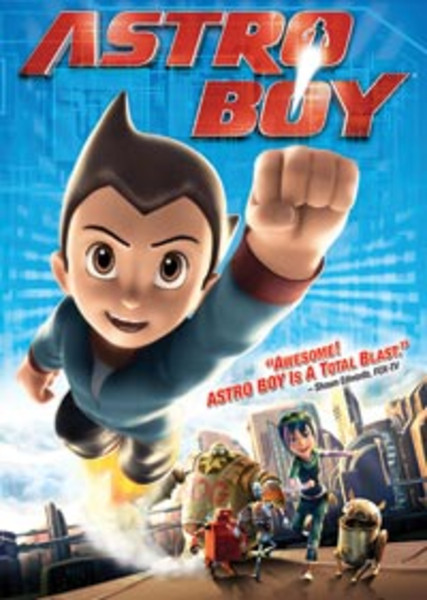Astro Boy Movie DVD
