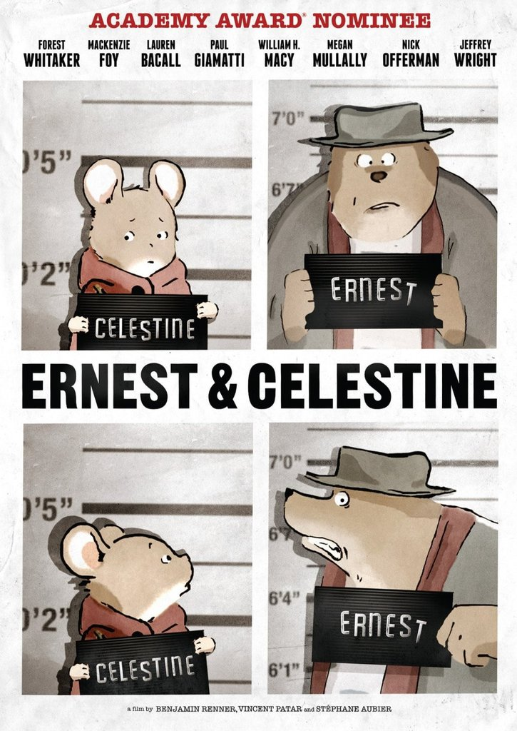 Ernest And Celestine Blu-ray