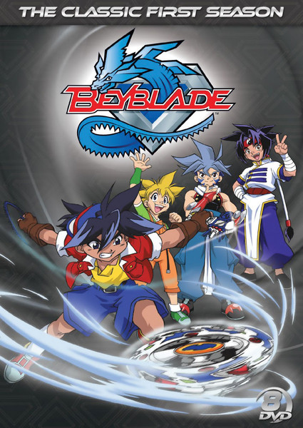 Beyblade Season 1 Dvd