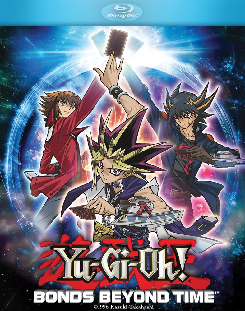 YuGiOh Bonds Beyond Time Movie Blu-ray 025192240157