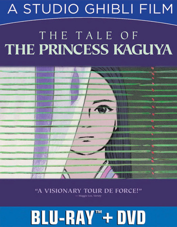 Tale of The Princess Kaguya Blu-ray/DVD