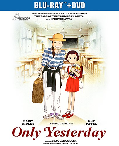 Only Yesterday Blu-ray/DVD 025192360497
