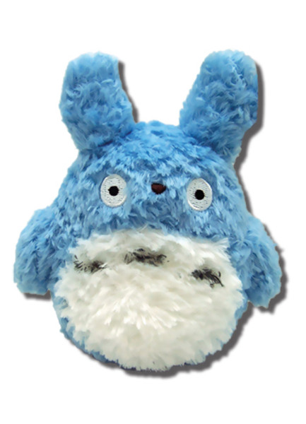 Fluffy Blue Totoro My Neighbor Totoro Plush