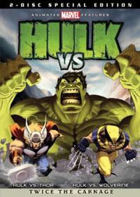 Hulk vs Wolverine Special Edition DVD 031398104285