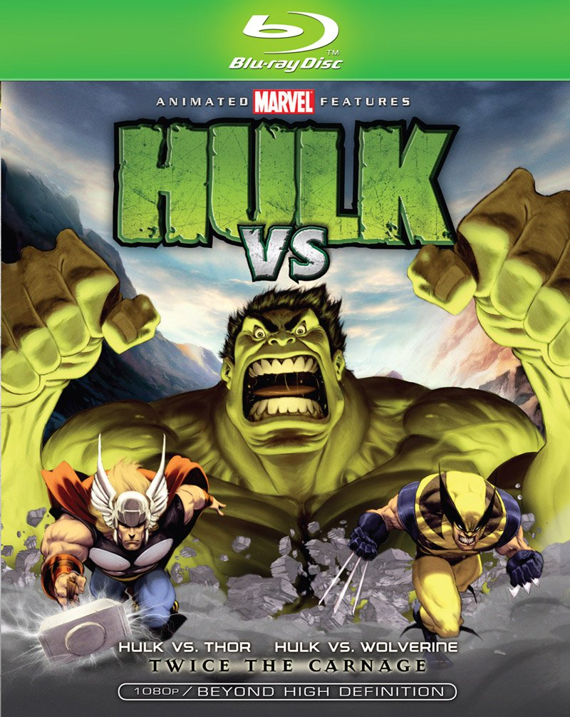Hulk vs Wolverine Blu-ray 031398104292