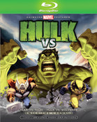 Hulk vs Wolverine Blu-ray