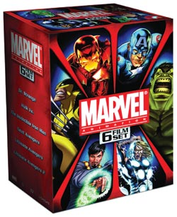 Marvel Animation 6-Film Set DVD (D) (Hulk/Dr. Strange/Iron Man/Avengers) 031398113980