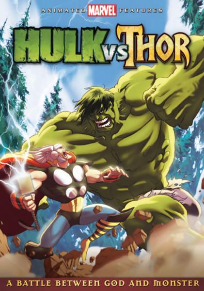 Hulk vs Thor DVD