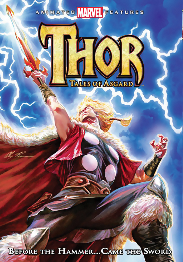 Thor: Tales of Asgard DVD 031398135692
