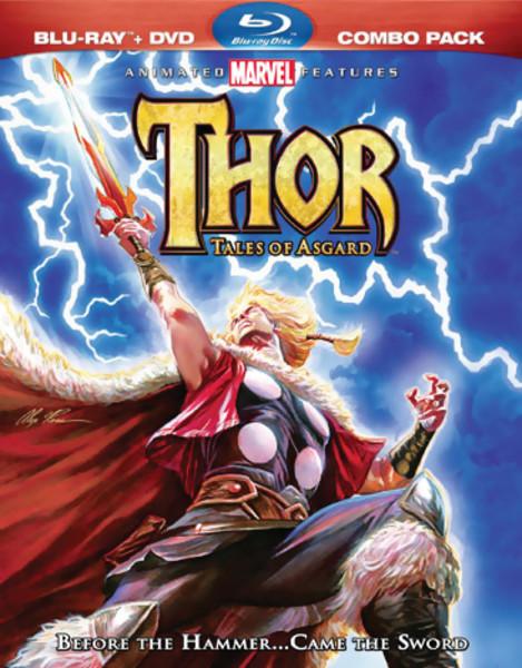 Thor Tales of Asgard Blu-ray/DVD