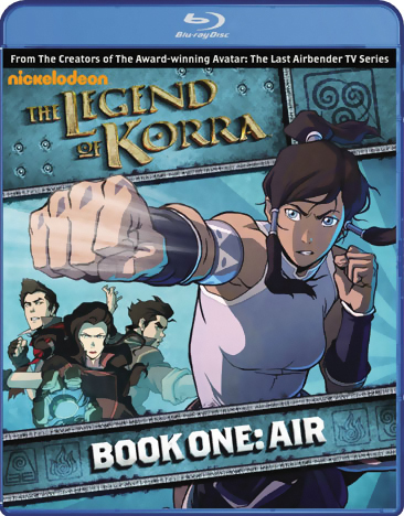 The Legend of Korra Book 1 Air Blu-ray 032429130396