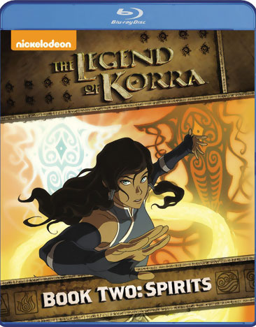 The Legend of Korra Book 2 Spirits Blu-ray 032429147745