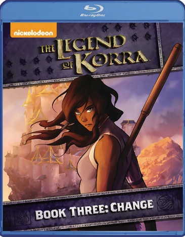 The Legend of Korra Book 3 Change Blu-ray 032429208347
