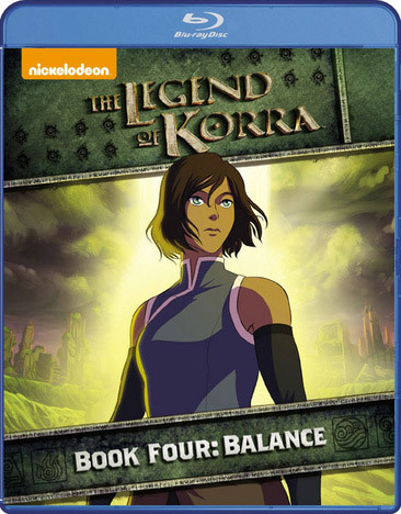 The Legend of Korra Blu-ray Book 4 Balance 032429212849